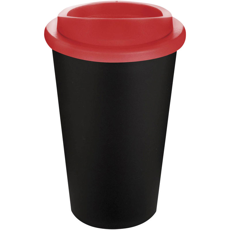 Mug Publicitaire | Americano Thermal Noir Rouge