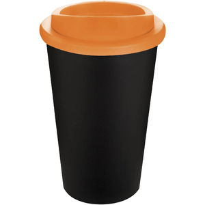 Mug Publicitaire | Americano Thermal Noir Orange