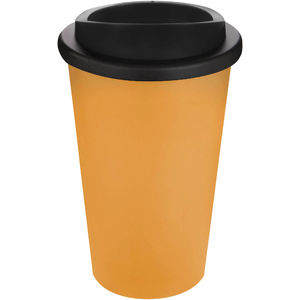 Mug Publicitaire | Americano Thermal Orange Noir