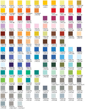 Gamme de couleurs mugs publicitaires mug publicitaire - Gamme chromatique couleur ...